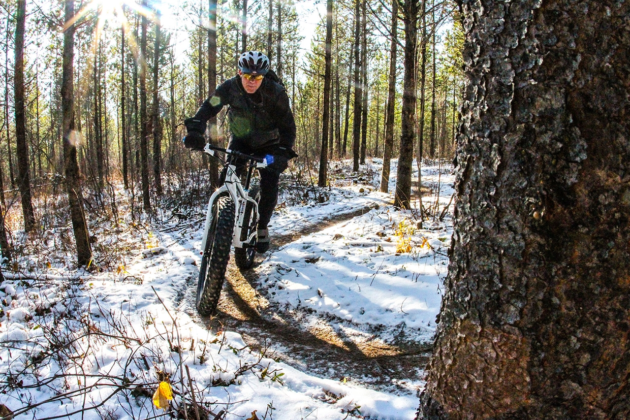 Fatbiking Fernie Trails