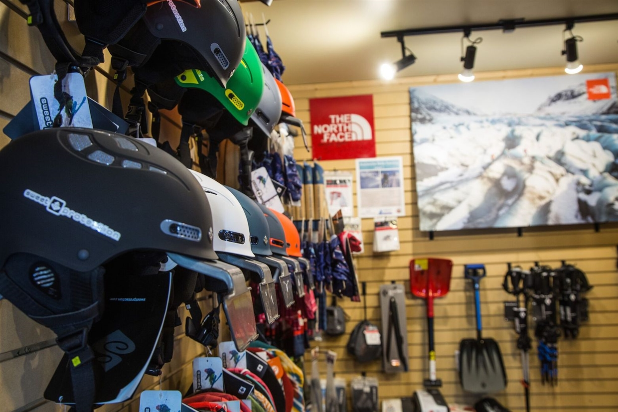 Full range of helmets, accessories and touring gear
