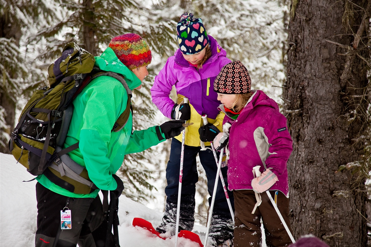Snowshoeing with Wild Nature Tours