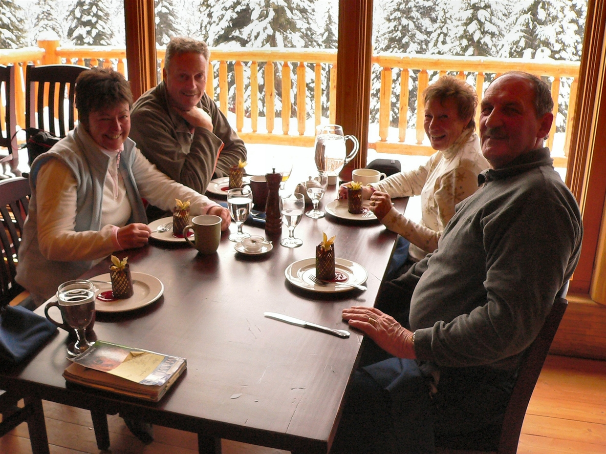 Lunch at Island Lake Lodge