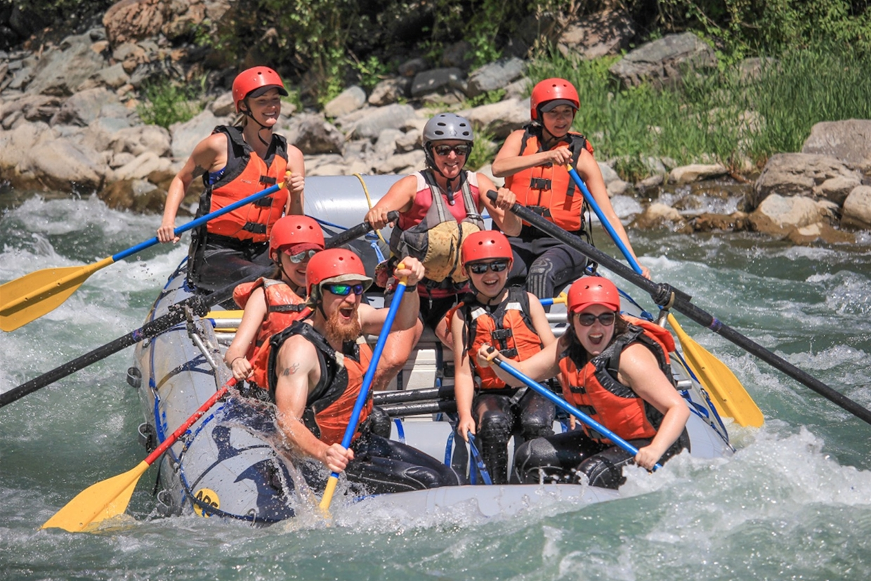 Whitewater Rafting on the Elk River