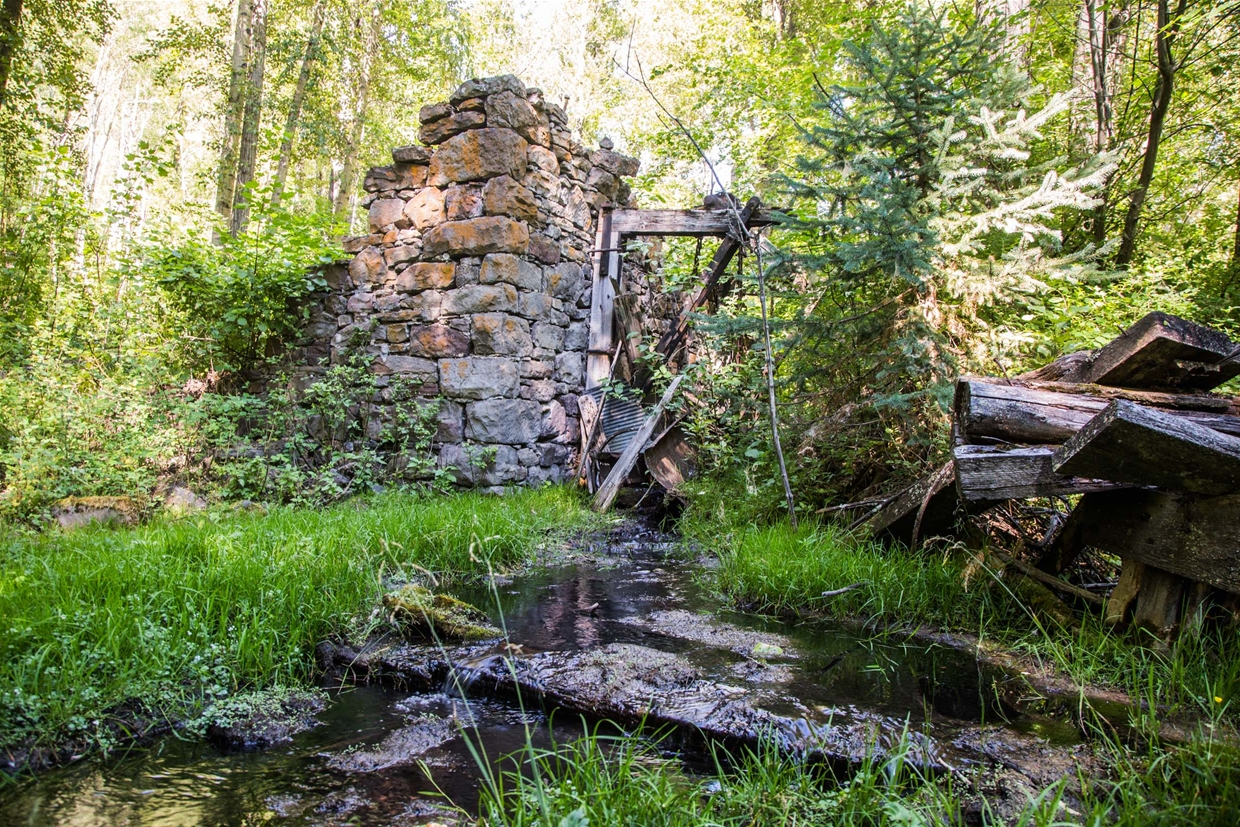 Coal Creek Townsite Ruins